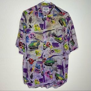 JAMS WORLD Vintage Hawaiian Shirt Size M